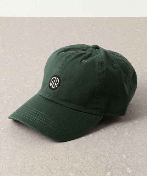 green label relaxing / グリーンレーベル リラクシング キャップ | SC GLR サークル ロゴ キャップ(DK.GREEN)