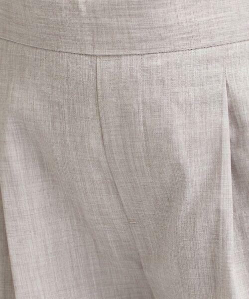 green label relaxing / グリーンレーベル リラクシング スラックス・ドレスパンツ | [ポプリン] ◆D バックゴム テーパード パンツ | 詳細9