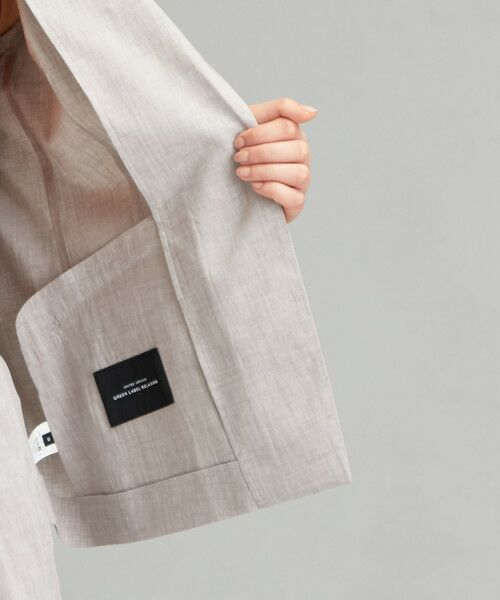 green label relaxing / グリーンレーベル リラクシング テーラードジャケット | [ポプリン] ◆D シャツ テーラード ジャケット | 詳細10