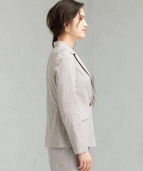 green label relaxing / グリーンレーベル リラクシング テーラードジャケット | [ポプリン] ◆D シャツ テーラード ジャケット | 詳細3