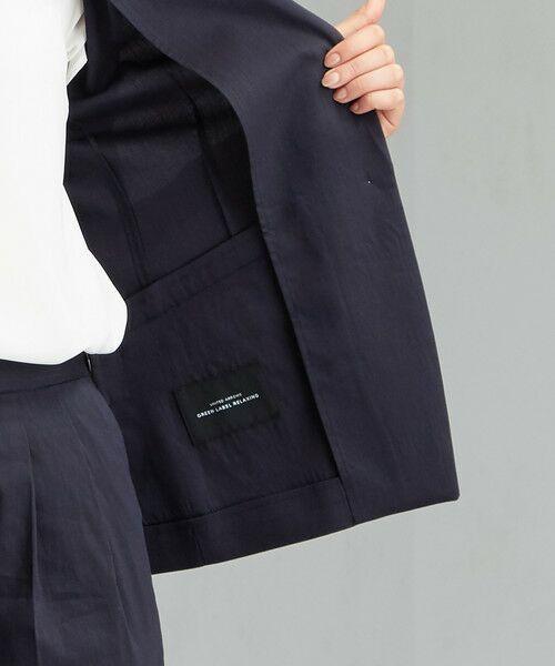 green label relaxing / グリーンレーベル リラクシング テーラードジャケット | [ポプリン] ◆D シャツ テーラード ジャケット | 詳細13