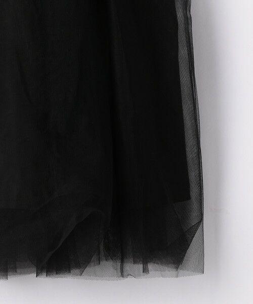 green label relaxing / グリーンレーベル リラクシング ロング・マキシ丈ワンピース | 【キッズ】GLRボーダーチュールワンピース | 詳細4