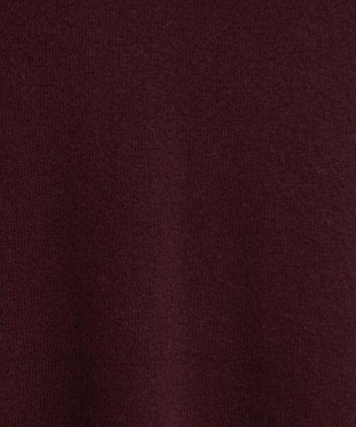 green label relaxing / グリーンレーベル リラクシング ロング・マキシ丈ワンピース   CFC W/RY/N Vネック ニット ワンピース ※   詳細9