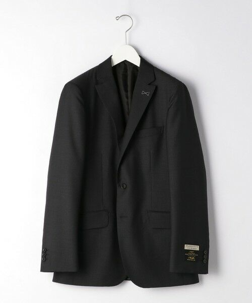 green label relaxing / グリーンレーベル リラクシング セットアップ   [ マルゾット ] MARZOTTO ドビー無地 2B S/BK FS SP- スーツ ジャケット   詳細4