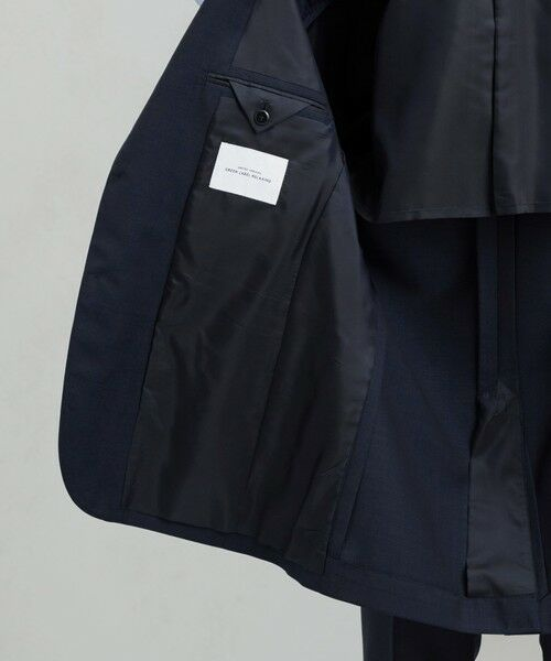 green label relaxing / グリーンレーベル リラクシング セットアップ   [ マルゾット ] MARZOTTO ドビー無地 2B S/BK FS SP- スーツ ジャケット   詳細16