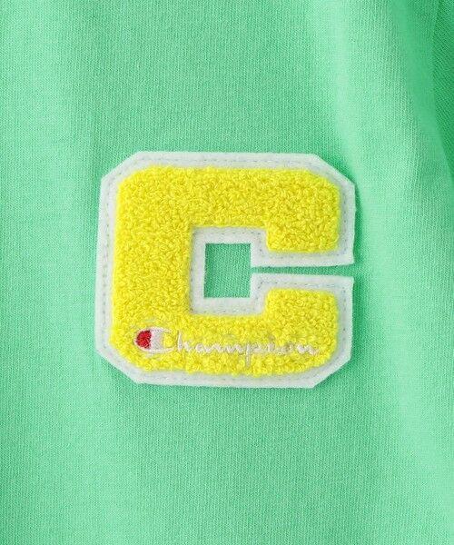 green label relaxing / グリーンレーベル リラクシング カットソー | 【ジュニア】〔別注〕CHAMPION(チャンピオン)リンガーショートスリーブTシャツ | 詳細9