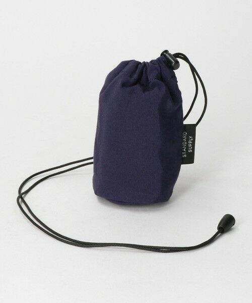 green label relaxing/グリーンレーベル リラクシング [ スタンダードサプライ ] STANDARD SUPPLY DRAW STRING POUCH S PURPLE FREE