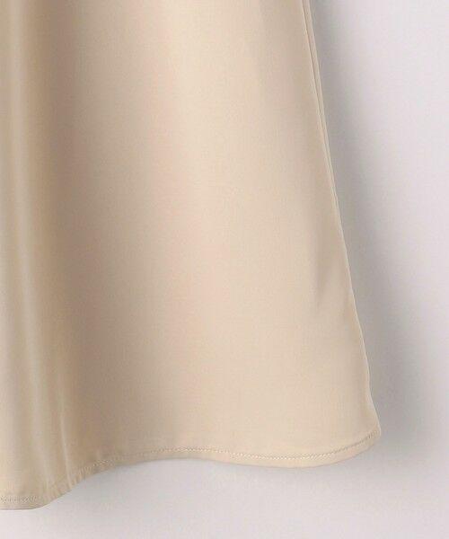 green label relaxing / グリーンレーベル リラクシング ロング・マキシ丈スカート | [ XS / H148-155cm ] ★★CFC サテン ナロー スカート | 詳細7