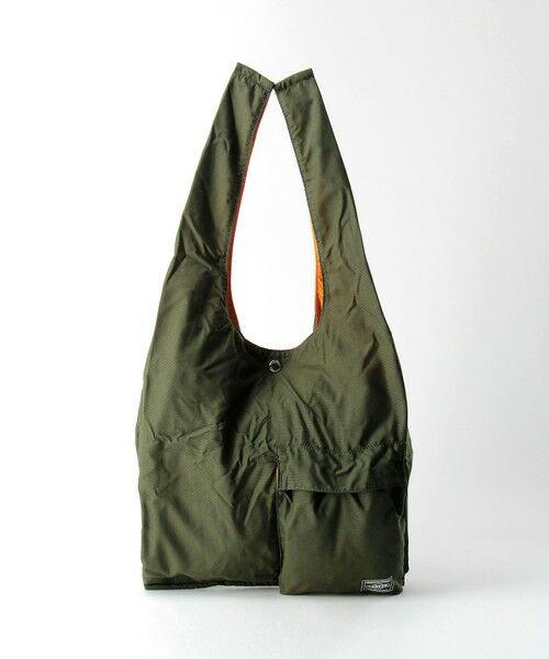 green label relaxing / グリーンレーベル リラクシング その他小物   [ ポーター ] PORTER BAGGER GMS BAG エコバッグ(OLIVE)