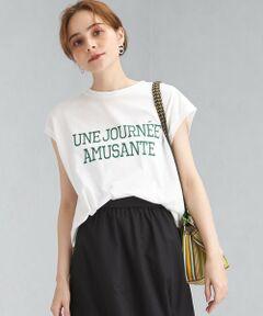 ◆カジュアルスタイルのアクセントに!新作プリントTシャツをご紹介◆<br><br>洗練感のあるロゴプリントがポイントの一着。<br>爽やかな印象のノースリーブでご用意致しました。<br><br>柔らかなタッチのコットン素材はデイリースタイルに最適◎<br>身体のラインを拾いすぎない絶妙なシルエットが今年らしい着こなしを演出します。<br><br>一枚着トップスとしてはもちろん、サロペットやキャミワンピースとレイヤードしてロゴをちらりと覗かせても素敵♪<br>カジュアルスタイルのメインアイテムとして、ぜひ手に入れたい一押しカットソーです!<br><br>【POINT】<br>・着心地が快適なコットン素材<br>・軽やかな印象のサイドスリット<br>・キャッチーなロゴプリント<br>・肩にかかるこなれた袖デザイン<br><br>■ダークグレー:バックプリントあり、オフホワイト・オレンジ:バックプリントなしでございます。<br><br>----------------------------------<br>透け感:ややあり<br>光沢感:なし<br>生地の伸び:ややあり<br>ケア方法:手洗い可<br>----------------------------------<br><br><font color=#008000>▼お気に入り登録のおすすめ▼<br>気になる商品は「お気に入り」登録がおすすめ!<br>お気に入り登録商品は、マイページにて現在の価格情報や在庫状況の確認が可能です。<br>お買い物リストの管理に♪是非ご利用下さい。</font> <br>#キレイメ#カジュアル#デイリー#クルー#U#ネック#丸首#袖なし#フレンチ#ロゴ#プリント#T#トップス#カットソー#ミドル#ワンポイント<br><br><font color=purple>店舗へお問い合わせの際は、全国のgreen label relaxing各店舗まで下記の品名/品番をお申し付け下さい。<br>品名:SC プリント NS TS  品番:3617-262-2851</font>