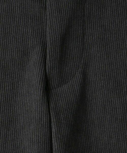 green label relaxing / グリーンレーベル リラクシング スラックス・ドレスパンツ | WTO A+ PEコーデュロイ MODERN スラックス -ウォッシャブル・ストレッチ・防シワ- | 詳細15