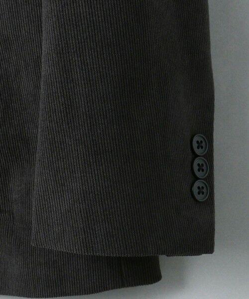 green label relaxing / グリーンレーベル リラクシング テーラードジャケット   WTO A+ PEコーデュロイ MODERN ジャケット -ウォッシャブル・ストレッチ・防シワ-   詳細13