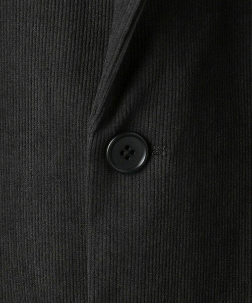 green label relaxing / グリーンレーベル リラクシング テーラードジャケット   WTO A+ PEコーデュロイ MODERN ジャケット -ウォッシャブル・ストレッチ・防シワ-   詳細14