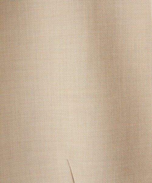 green label relaxing / グリーンレーベル リラクシング ノーカラージャケット | 【WEB限定】[ XS /H148-155cm]ダブルクロス ノーラペル ジャケット -ウォッシャブル・ストレッチ・防シワ- | 詳細7