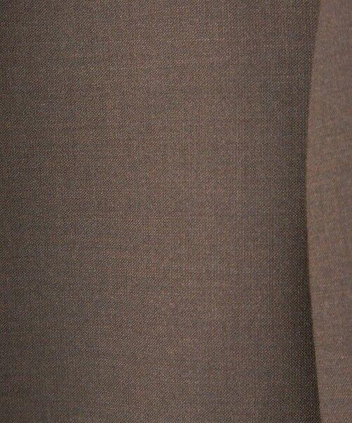 green label relaxing / グリーンレーベル リラクシング ノーカラージャケット | 【WEB限定】[ XS /H148-155cm]ダブルクロス ノーラペル ジャケット -ウォッシャブル・ストレッチ・防シワ- | 詳細11