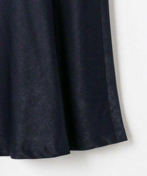 green label relaxing / グリーンレーベル リラクシング ロング・マキシ丈スカート | RP サテン キリカエ マーメイド スカート | 詳細15