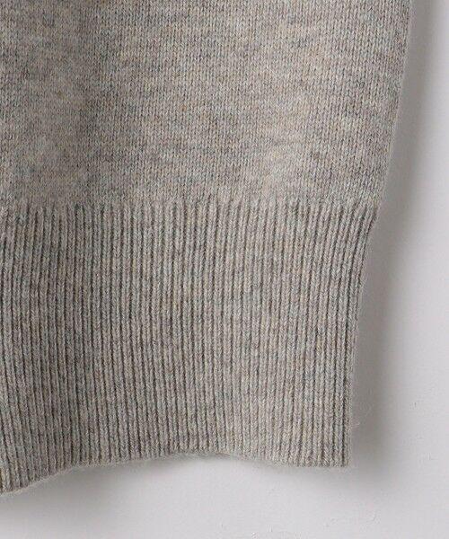 green label relaxing / グリーンレーベル リラクシング ニット・セーター | LAUNDRY W ハーフジップ プルオーバー ニット | 詳細6