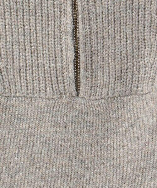 green label relaxing / グリーンレーベル リラクシング ニット・セーター | LAUNDRY W ハーフジップ プルオーバー ニット | 詳細7