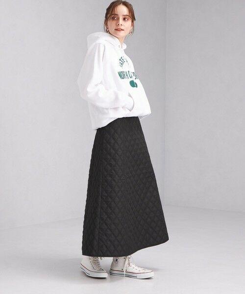 green label relaxing / グリーンレーベル リラクシング ロング・マキシ丈スカート | キルティング スカート | 詳細5