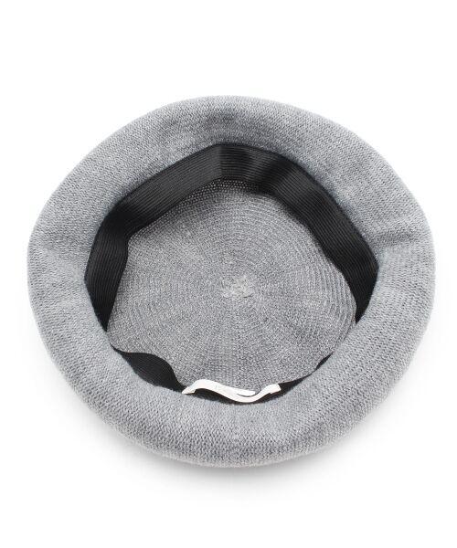grove / グローブ ハンチング・キャスケット・ベレー帽 | サーモニットベレー | 詳細2