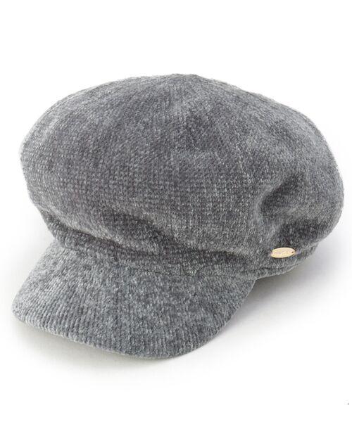 grove / グローブ ハンチング・キャスケット・ベレー帽 | モールキャスケット(グレー(012))