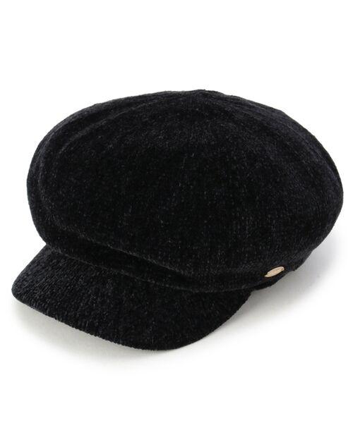 grove / グローブ ハンチング・キャスケット・ベレー帽 | モールキャスケット(ブラック(019))