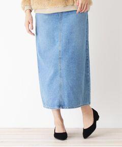 Leeロングデニムスカート