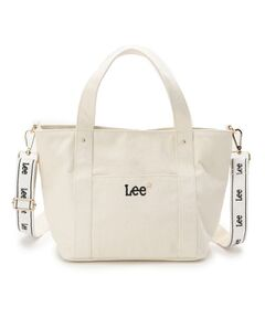 Lee(R)2WAYテープショルダー付きトート