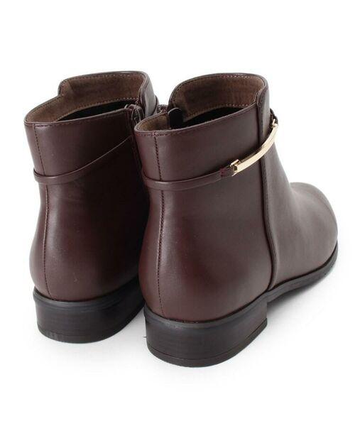 grove / グローブ ブーツ(ショート丈)   メタルベルト風ショートブーツ   詳細3