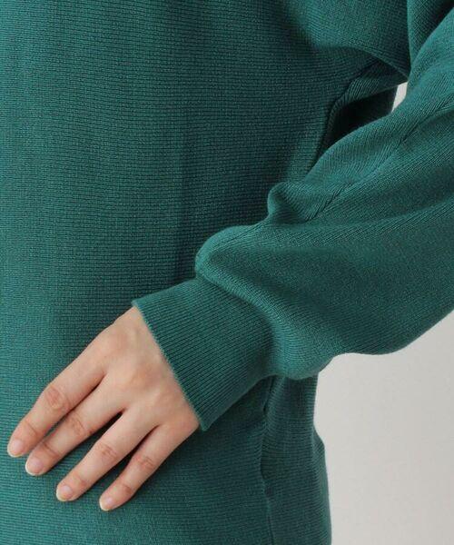 grove / グローブ ニット・セーター | 【前後で着れる2WAY】スカーフ付きマルチウェイドルマンニット | 詳細7