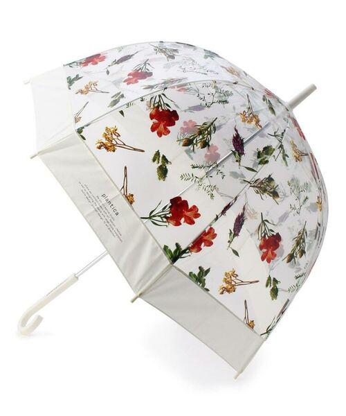 grove / グローブ 傘 | Wpc.フラワービニール傘(長傘)(アイボリー(804))