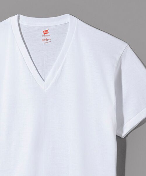 Hanes / ヘインズ Tシャツ | Hanes Premium Japan Fit半袖Tシャツ | 詳細1