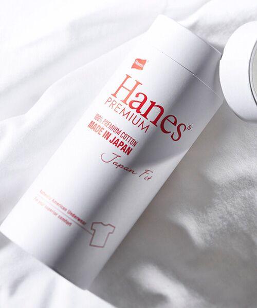 Hanes / ヘインズ Tシャツ | Hanes Premium Japan Fit半袖Tシャツ | 詳細2