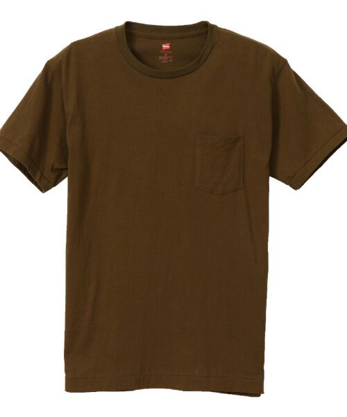 Hanes / ヘインズ Tシャツ | Hanes Premium Japan Fit半袖Tシャツ(670アーミーグリーン)