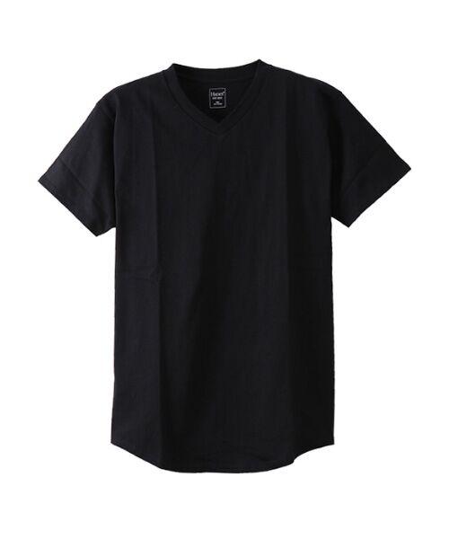 Hanes / ヘインズ Tシャツ | Hanes UndiesビッグTシャツ(090ブラック)