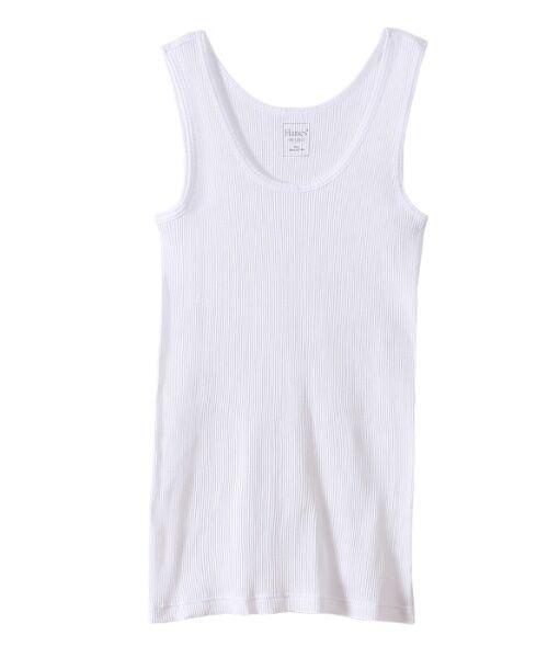 Hanes / ヘインズ Tシャツ | Hanes Undiesタンクトップ(010ホワイト)