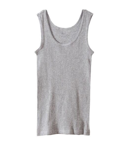 Hanes / ヘインズ Tシャツ | Hanes Undiesタンクトップ(060ヘザーグレー)