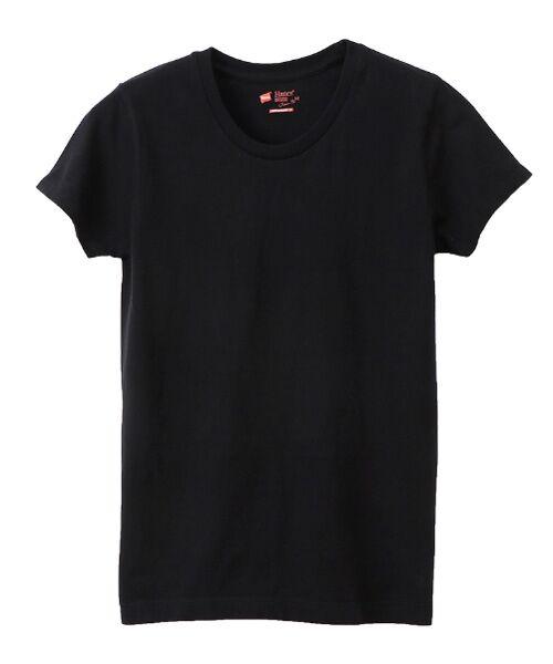 Hanes / ヘインズ Tシャツ | Japan Fit for Her半袖Tシャツ2P【2枚組】 | 詳細1