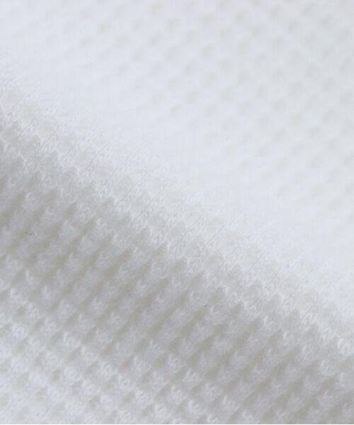 Hanes / ヘインズ カットソー | ヘインズ プレミアム クルーネック サーマル ロングスリーブTシャツ | 詳細3
