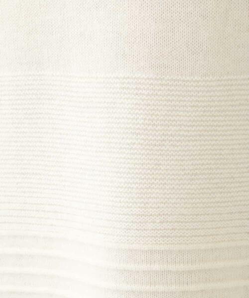 HIROKO BIS / ヒロコビス ロング・マキシ丈ワンピース | 【日本製】エアリースパン ニットチュニック | 詳細7