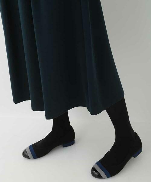 HIROKO BIS / ヒロコビス その他パンツ | 【洗濯機で洗える】ミディ丈タックワイドパンツ | 詳細6
