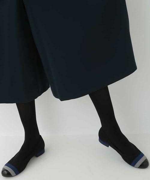 HIROKO BIS / ヒロコビス その他パンツ | 【洗濯機で洗える】ミディ丈タックワイドパンツ | 詳細8