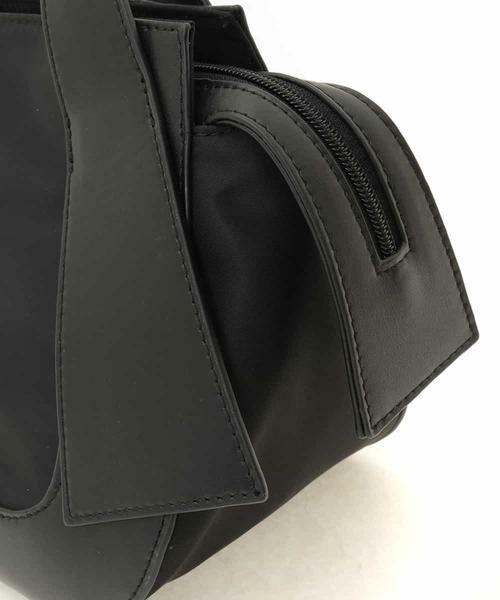 HIROKO BIS / ヒロコビス トートバッグ   ジョイントデザイン牛革ハンドバッグ   詳細4