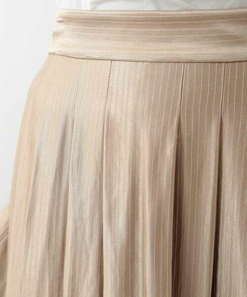HIROKO BIS / ヒロコビス ロング・マキシ丈スカート | チョークストライプタックスカート | 詳細4
