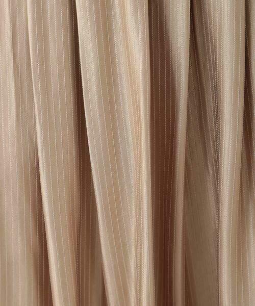 HIROKO BIS / ヒロコビス ロング・マキシ丈スカート | チョークストライプタックスカート | 詳細8