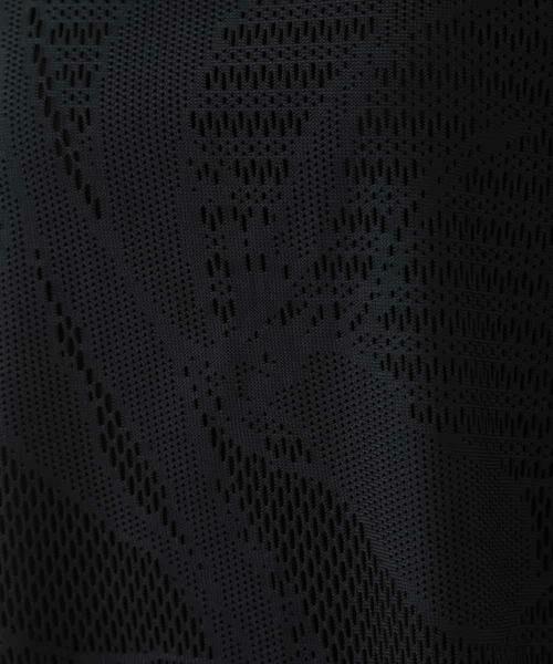 HIROKO BIS / ヒロコビス カットソー | 【洗える】デザインメッシュタンクトップ&Tシャツセット | 詳細7