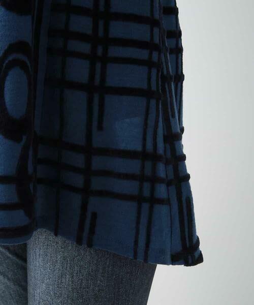 HIROKO BIS / ヒロコビス チュニック | 【洗える/日本製】パターンジャガードチュニック | 詳細6