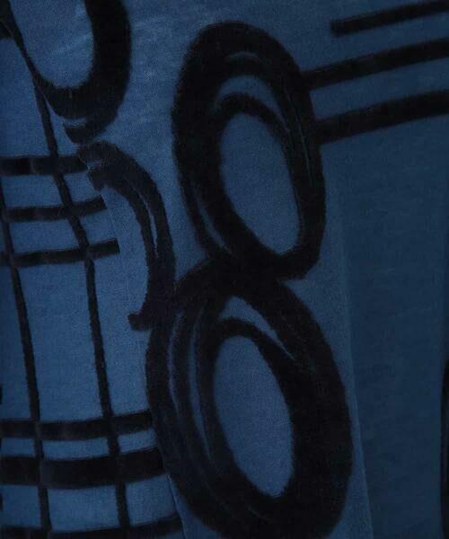 HIROKO BIS / ヒロコビス チュニック | 【洗える/日本製】パターンジャガードチュニック | 詳細7