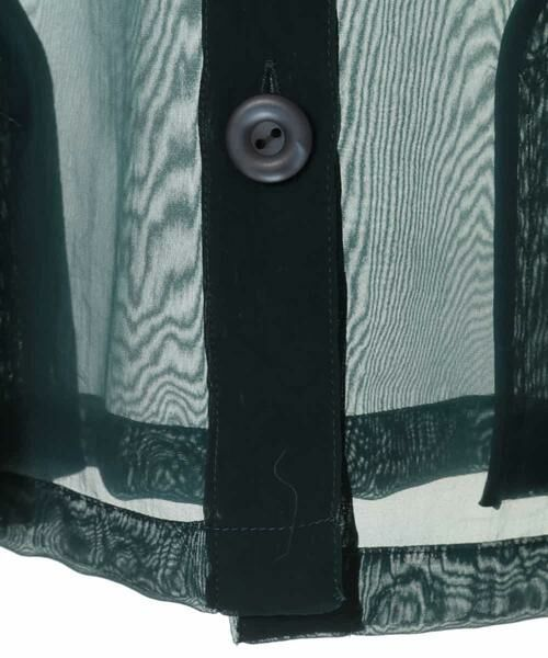 HIROKO BIS GRANDE / ヒロコビス グランデ ノーカラージャケット   オーガンジーショートジャケット   詳細4
