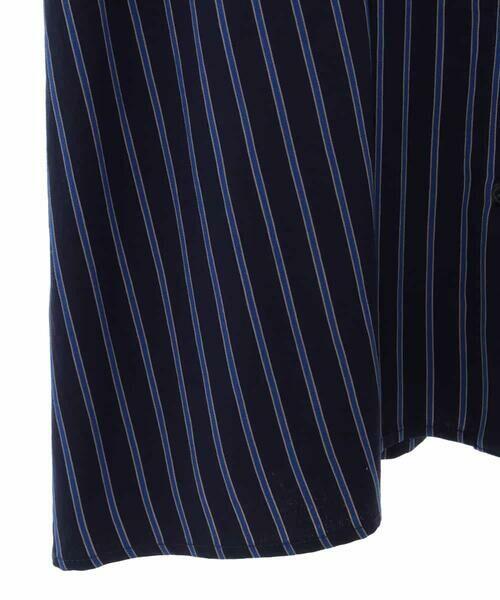 HIROKO BIS GRANDE / ヒロコビス グランデ ロング・マキシ丈ワンピース | ストライプシャツワンピース | 詳細4